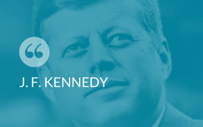 #SmartThinking – J. F. Kennedy
