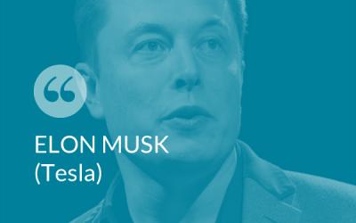 #SmartThinking – Elon Musk (TESLA)